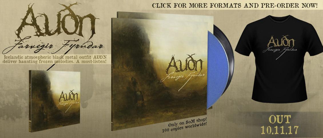 New album Audn pre-order Farvegir Fyrndar