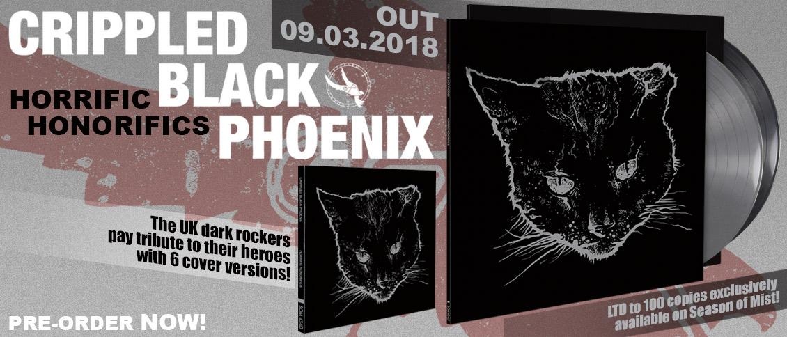 Crippled Black Phoenix Horrific Honorifics pre-order new cover EP