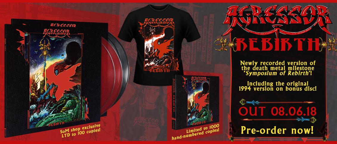Agressor - Rebirth reissue pre-order