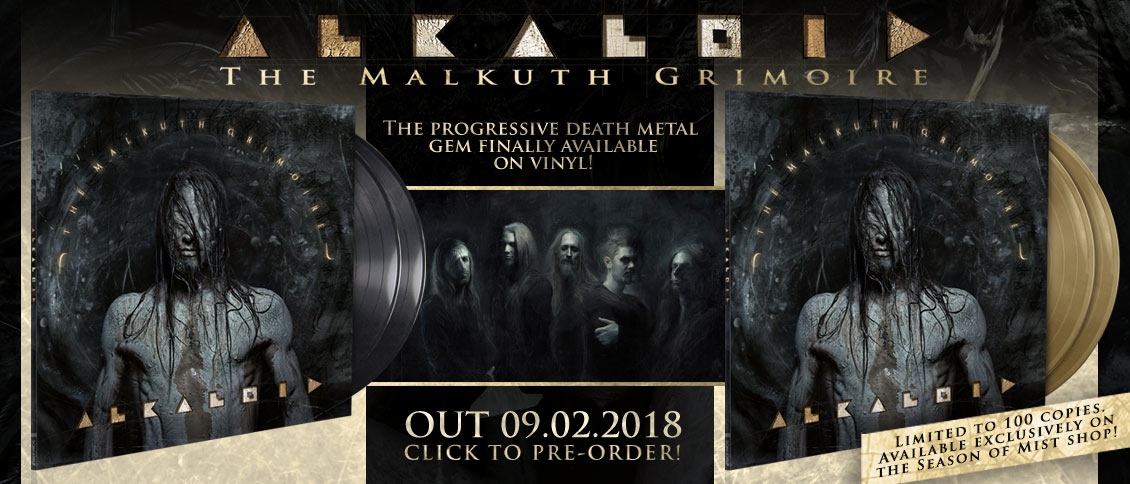 Alkaloid The Malkuth Grimoire vinyl pre-order