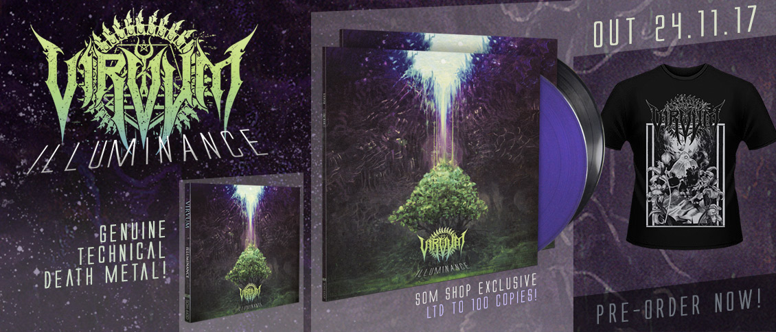 Virvum 'Illuminance' CD and LP pre-order