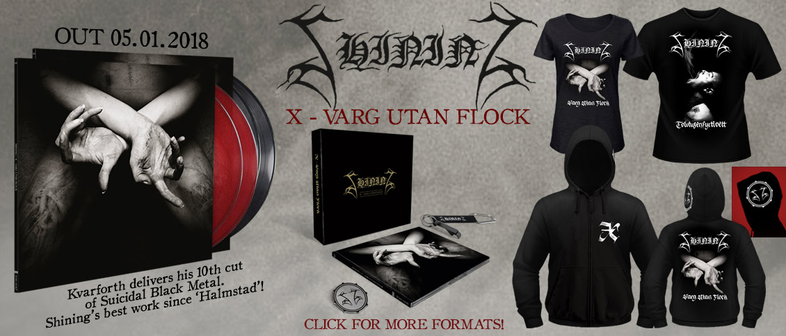 Shining new album Varg Utan Flock pre-order