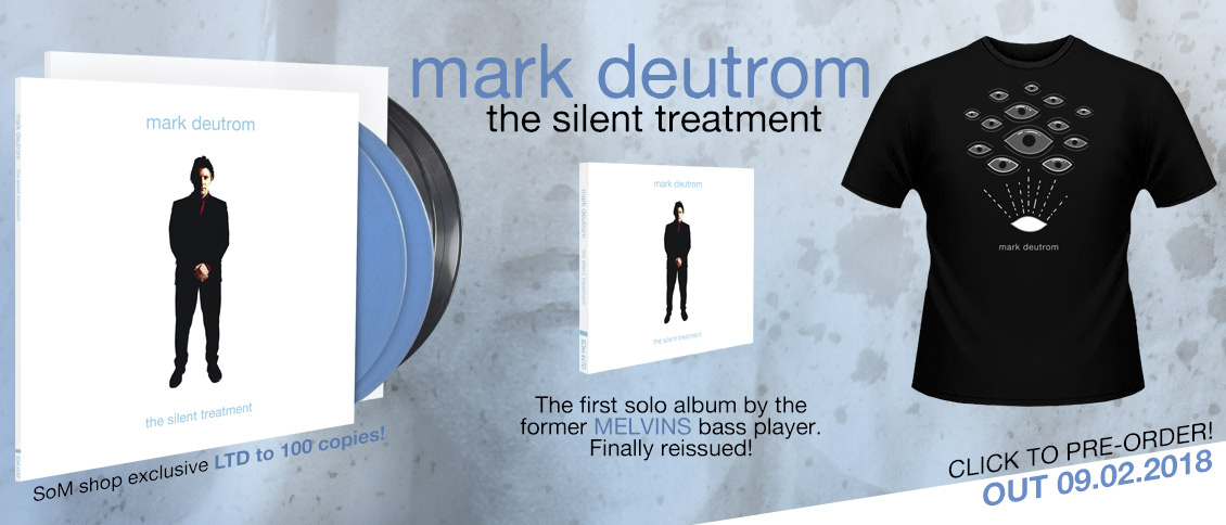 Mark Deutrom The Silent Treatment reissue pre-order