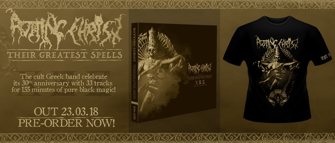 Rotting Christ Their Greatest Spells pre-order compilation
