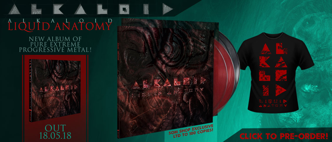 Alkaloid new album Liquid Anatomy pre-order