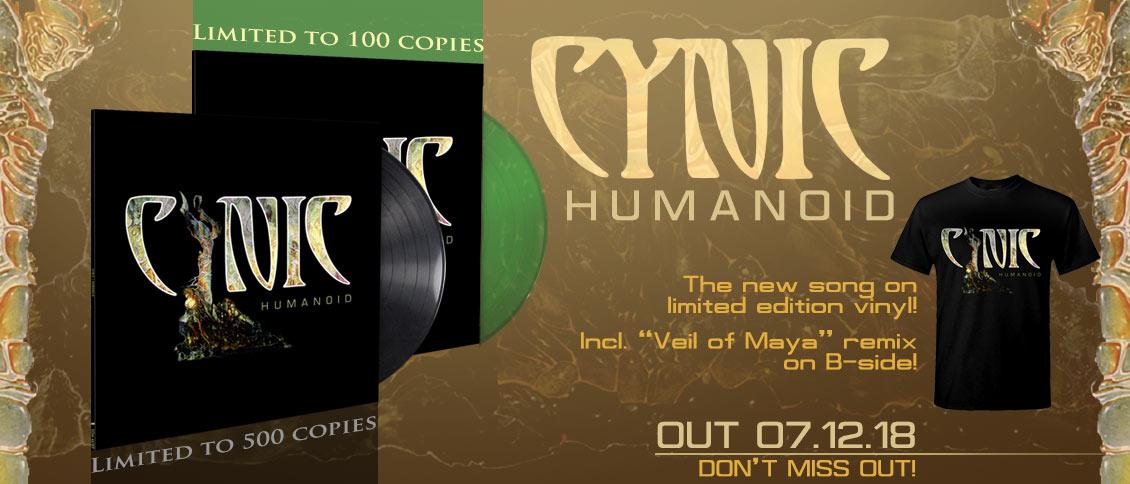 Cynic Humanoid new EP pre-order