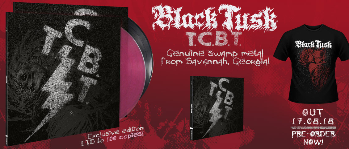 Black Tusk - TCBT new album pre-order