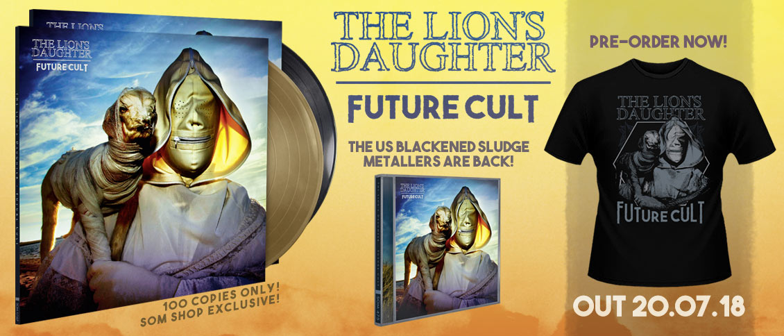 The Lion's Daughter new album Future Cult on pre-order