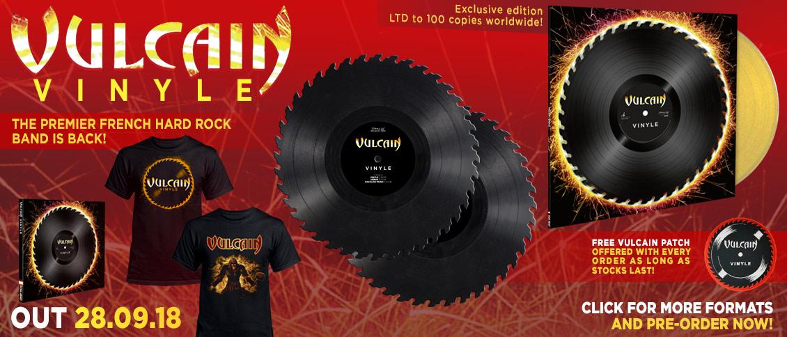 Vulcain new album Vinyle pre-order