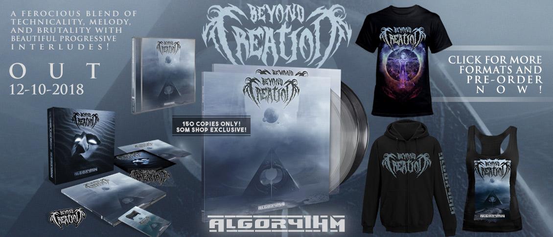 Beyond Creation - Algorythm new album pre-order