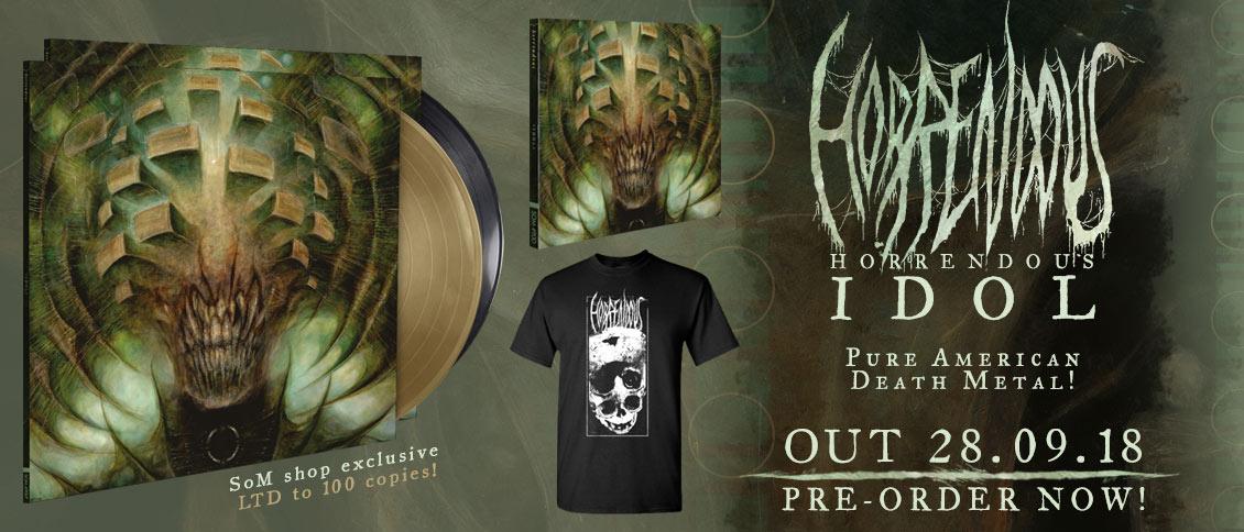 Horrendous new album Idol on pre-order