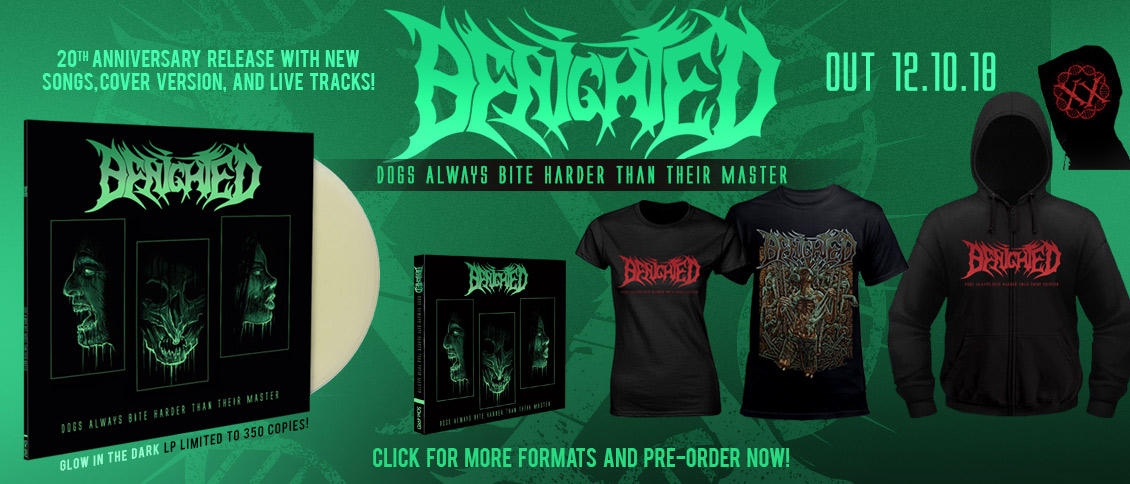 Benighted 'Dogs Always Bite Harder Than Their Master' new relase pre-order