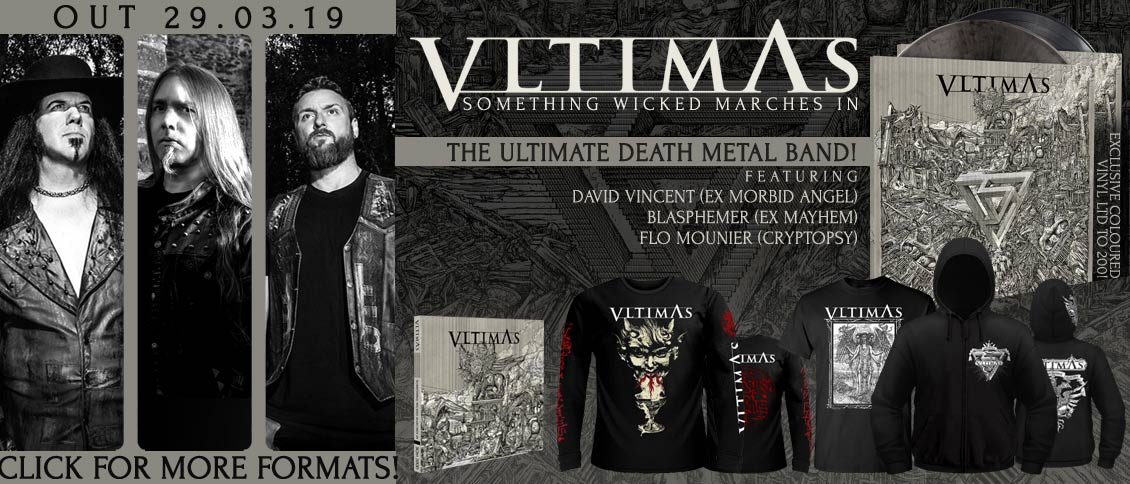 Vltimas Something Wicked Marches In new album pre-order