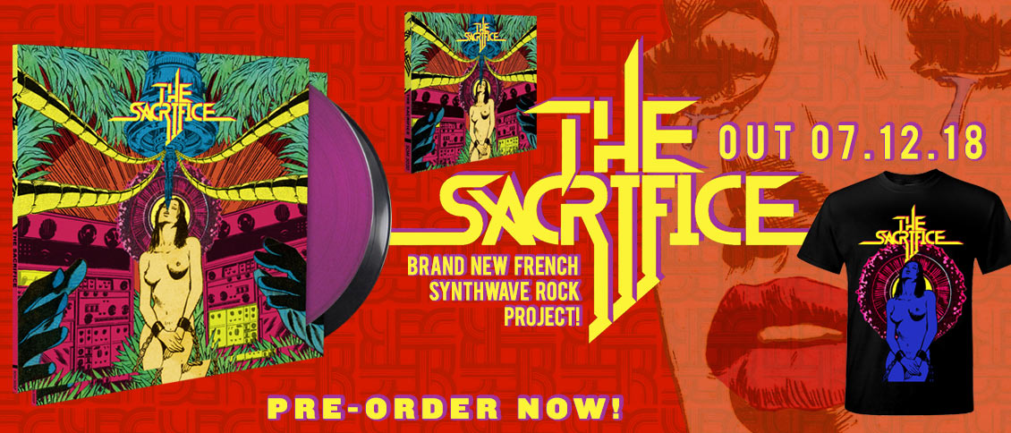 The Sacrifice album pre-order