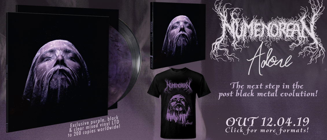 Numenorean Adore new album pre-order