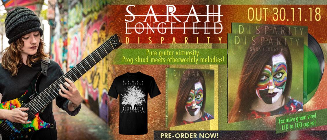 Sarah Longfield 'Disparity' new album pre-order
