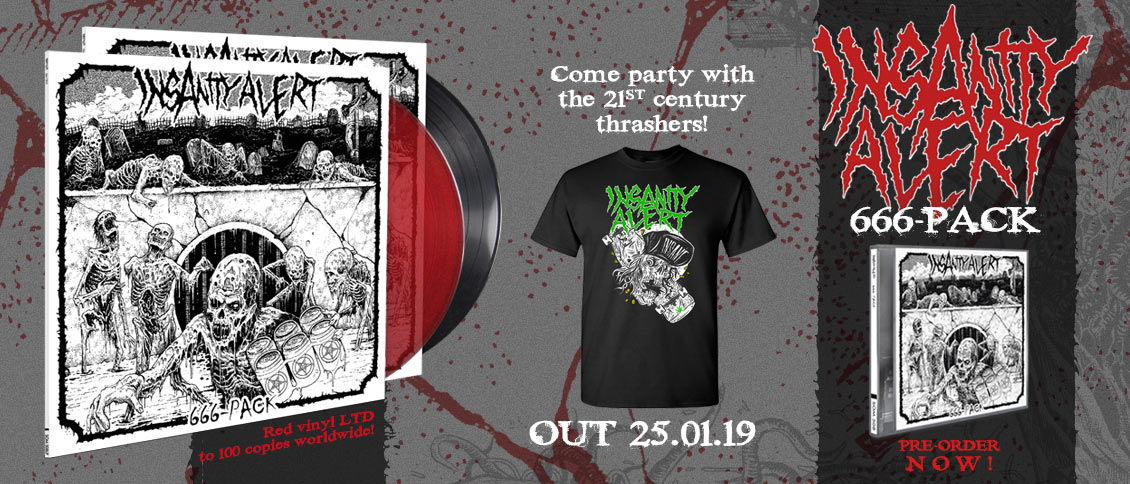Insanity Alert '666-Pack' new album pre-order
