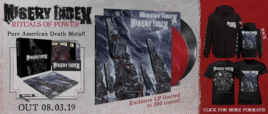 Misery Index - Rituals of Power new album pre-order