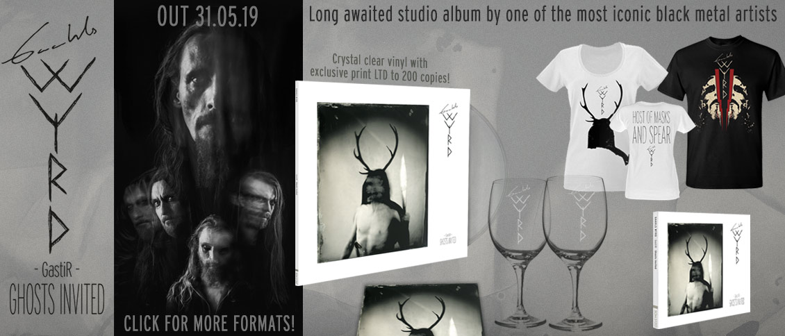 Gaahls Wyrd Gastir Ghosts Invited album pre-order