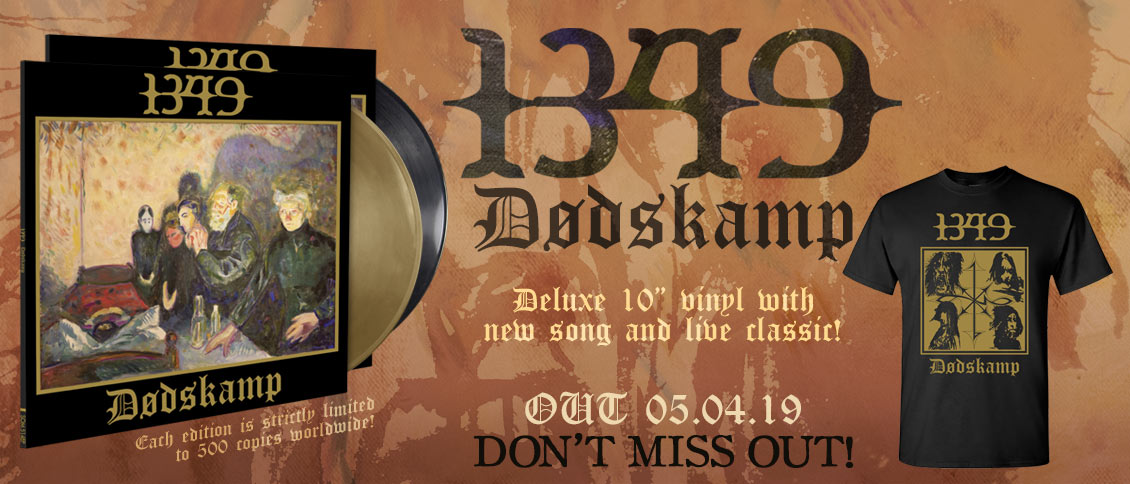 1349 new single vinyl Dodskamp pre-order