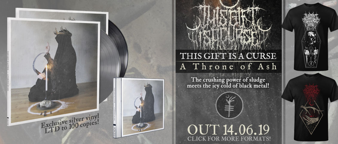 This Gift Is A Curse - A Throne of Ash new album pre-order