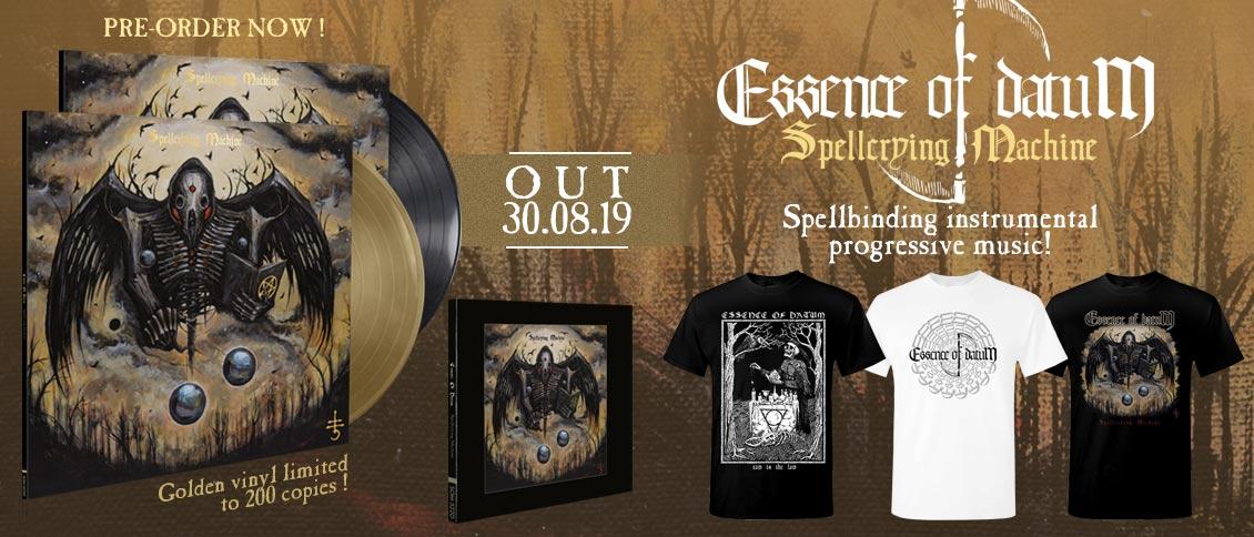 Essence Of Datum Spellcrying Machine album pre-order