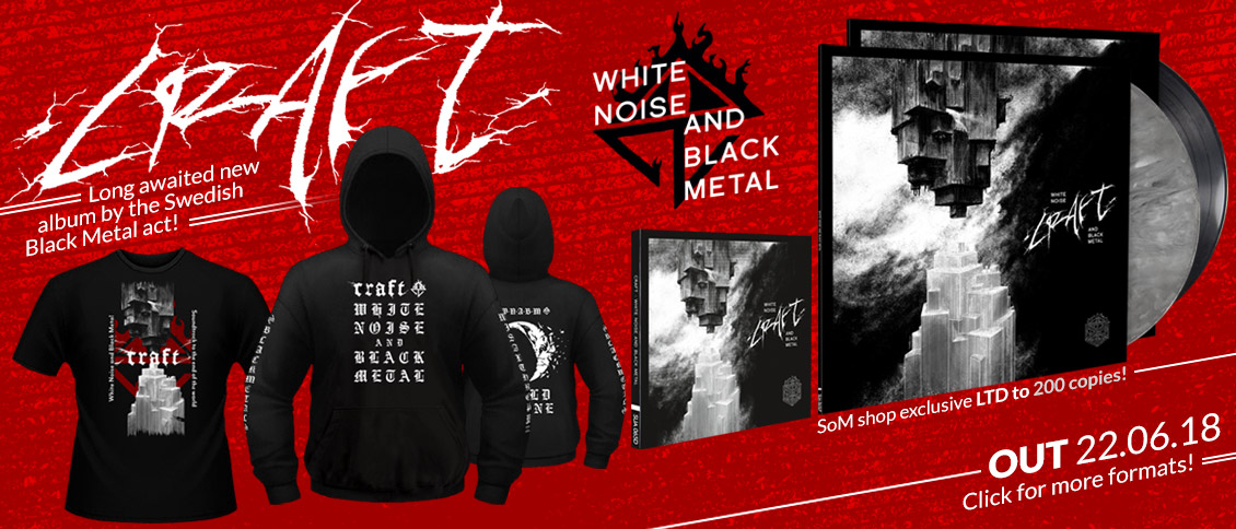 Craft 'White Noise And Black Metal' new album pre-order