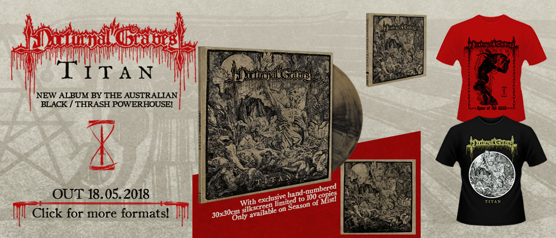 Nocturnal Graves new album Titan pre-order
