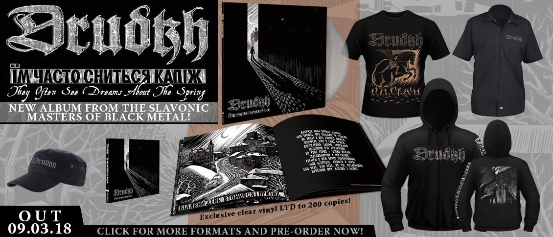 Drudkh pre-order new album They Often See Dreams About The Spring