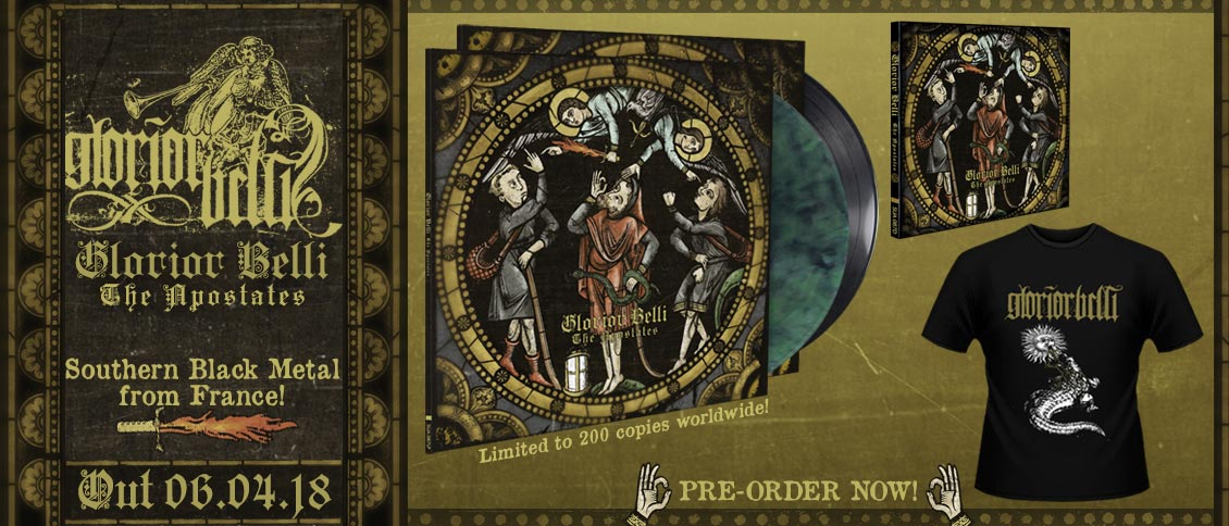 Glorior Belli pre-order new album The Apostates