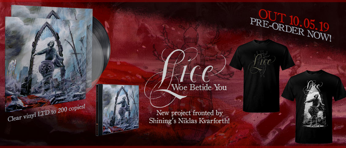 Lice Woe Betide You new album pre-order
