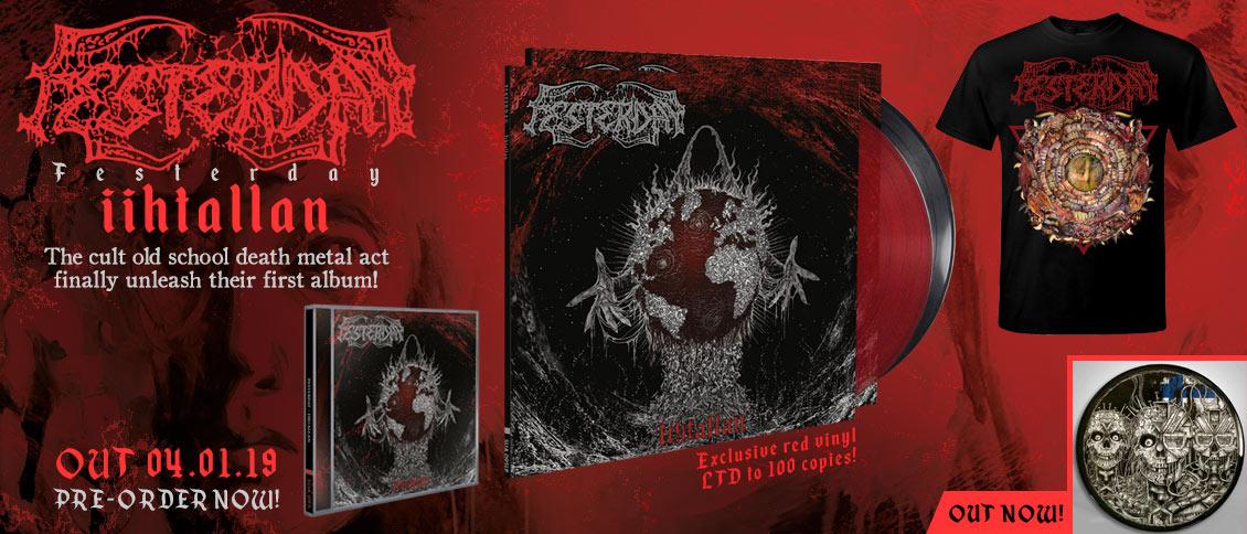 Festerday iihtallan new album pre-order