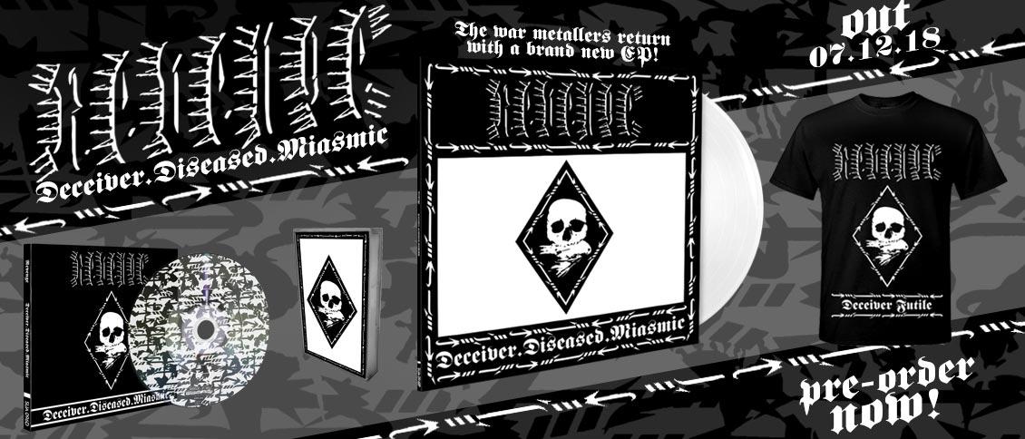 Revenge 'Deceiver.Diseased.Miasmic' EP pre-order