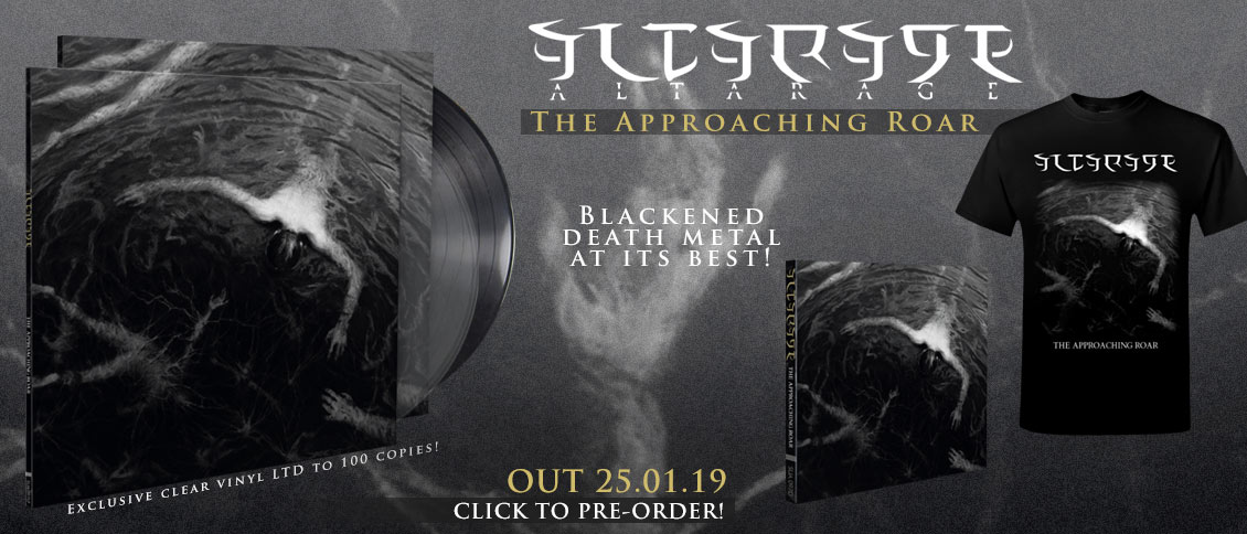 Altarage The Approaching Roar new album pre-order