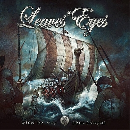 COVER - LEAVES' EYES - SIGN OF THE DRAGONHEAD