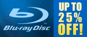 Immediate discount on dozens of Blu-ray discs!