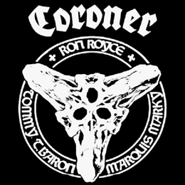 Reissues of 3 cult Coroner albums!