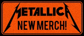 New Metallica T-shirts & hoodies!