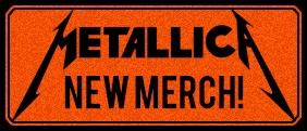 Nouveaux T-shirts & hoodies Metallica!