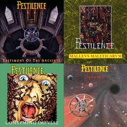 Pestilence reissues on double CDs!