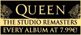 All Queen studio albums in remastered editions for 7.99€ a CD!