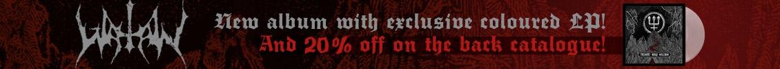 Watain's new album - exclusive coloured vinyl!